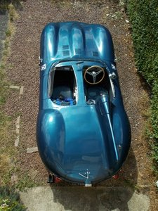 Jaguar D-Type Evocation