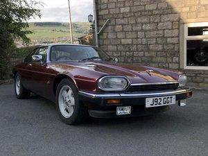 1992 Jaguar XJS 4.0 For Sale by Auction