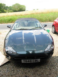1999 One owner, convertible XK8, with £1000 of spares.
