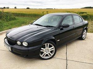 2002 Jaguar X-Type 3.0 V6 Manual Sport Black Long MOT