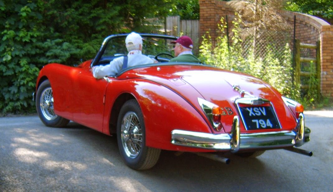 1958 Extremely early Jaguar XK150S 3.4 OTS For Sale (picture 3 of 5)