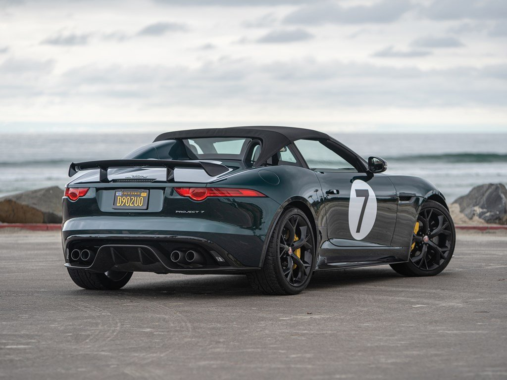 2016 Jaguar F-Type Project 7  For Sale by Auction (picture 2 of 6)