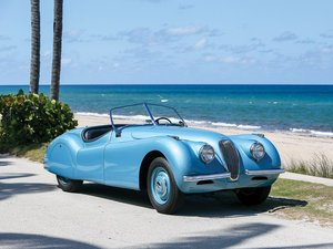 1949 Jaguar XK 120 Alloy Roadster  For Sale by Auction