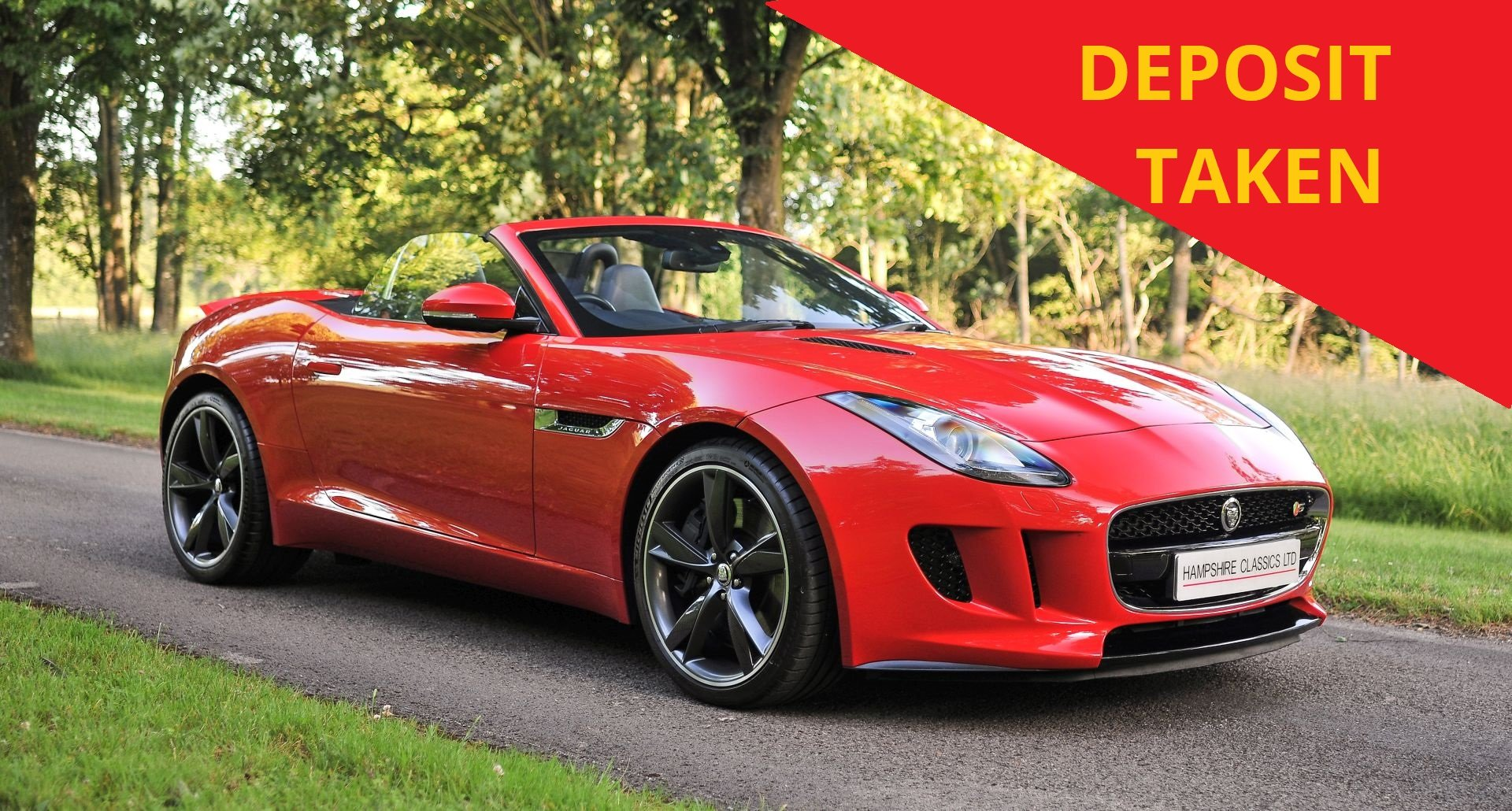 2014 Jaguar F-Type V6S Roadster (380PS) SOLD (picture 1 of 6)