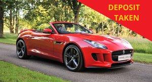 2014 Jaguar F-Type V6S Roadster (380PS) SOLD