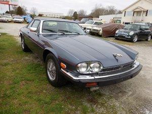 1990 Jaguar XJS Coupe = Cledan Blue(~)Grey 84k miles $8.5k