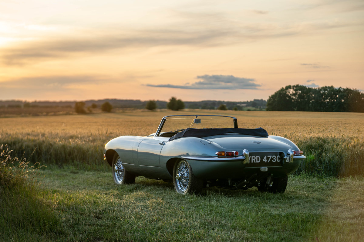 1965 Jaguar E-Type Roadster 4.2 Series 1 For Sale (picture 2 of 6)