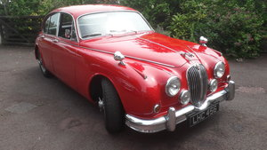 1963 Jaguar mk2 3.8 MOD Carmen Red For Sale