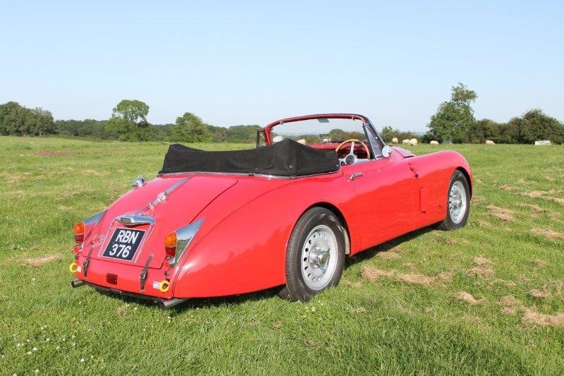 1960 Jaguar XK150 3.8S For Sale (picture 4 of 6)