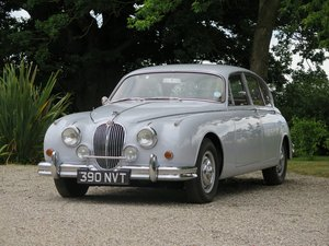 1960 JAGUAR MK2 2.4 O/D   LOT: 630 - 35,000 miles For Sale by Auction