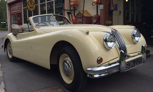 Jaguar XK140 DHC 1955 RHD WITH OVERDRIVE For Sale
