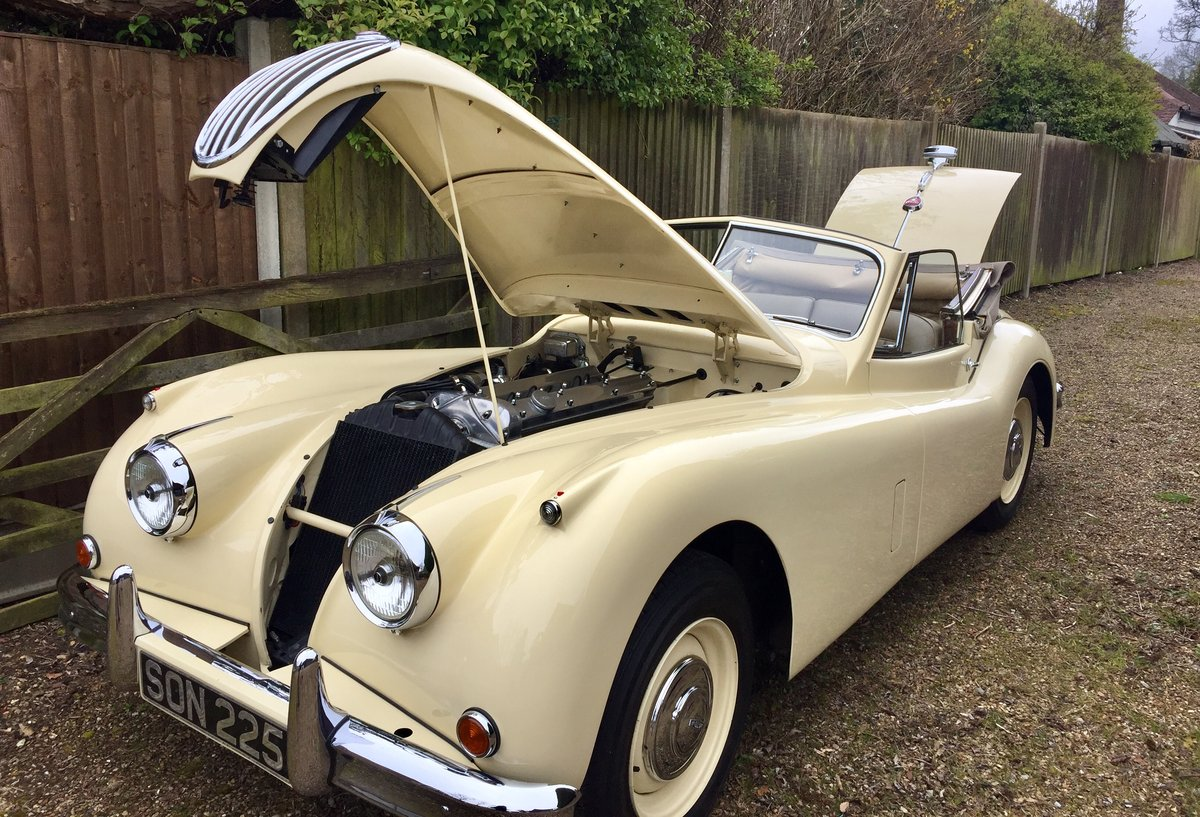 Jaguar XK140 DHC 1955 RHD WITH OVERDRIVE For Sale (picture 6 of 6)
