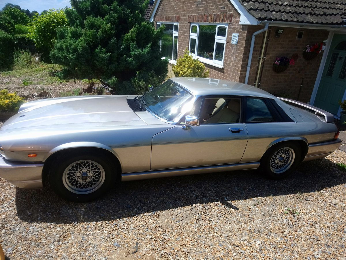 1988 TWR XJS V12 5.3 litre Coupe SOLD (picture 1 of 6)