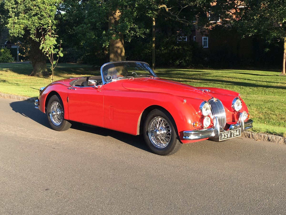 1958 Extremely early Jaguar XK150S 3.4 OTS For Sale (picture 1 of 5)
