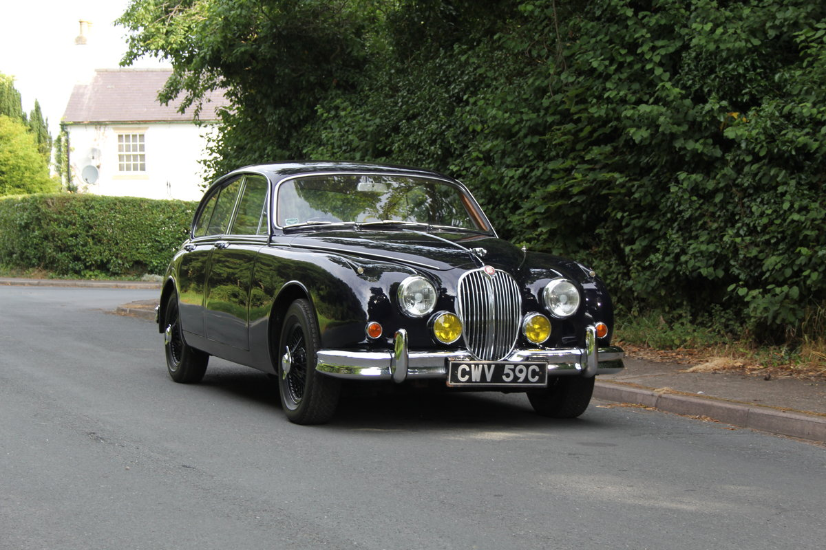 1965 Jaguar MKII 3.8 Manual O/D, Uprated, Extensive EU Touring  SOLD (picture 1 of 12)