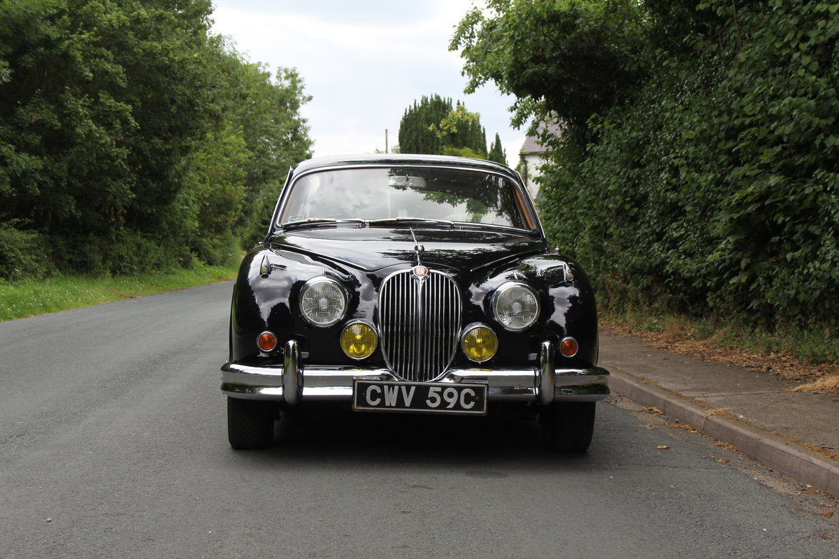 1965 Jaguar MKII 3.8 Manual O/D, Uprated, Extensive EU Touring  SOLD (picture 2 of 12)