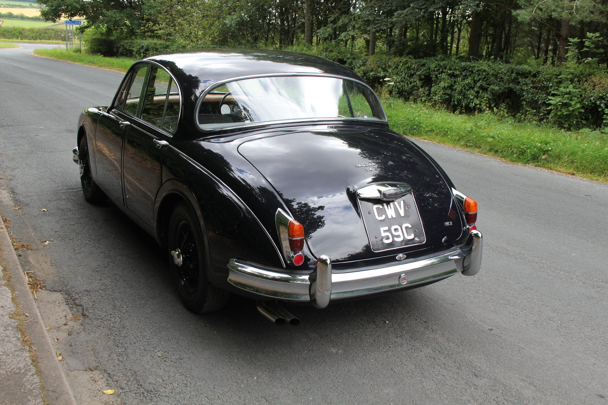 1965 Jaguar MKII 3.8 Manual O/D, Uprated, Extensive EU Touring  SOLD (picture 4 of 12)