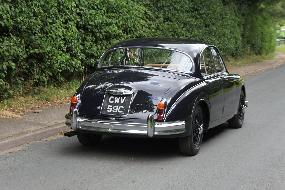 1965 Jaguar MKII 3.8 Manual O/D, Uprated, Extensive EU Touring  SOLD (picture 5 of 12)