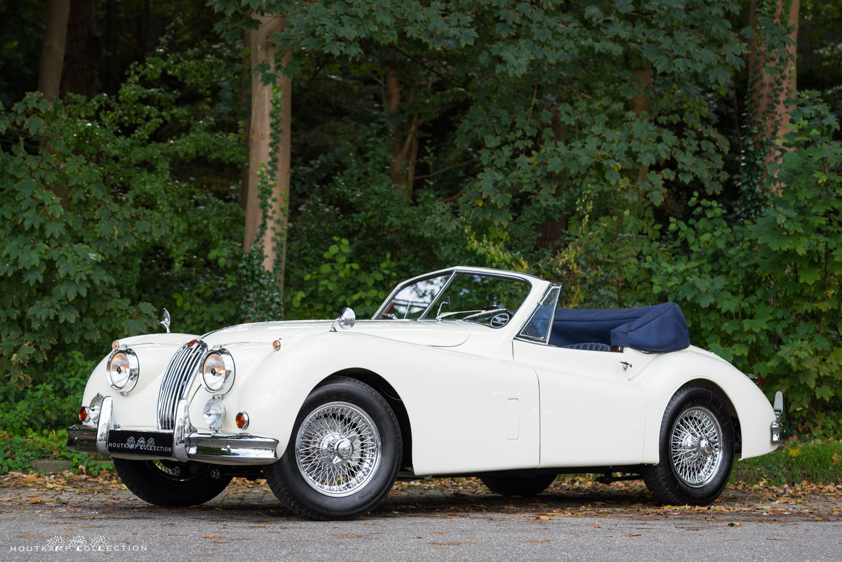 1956 JAGUAR XK 140 DROPHEAD COUPÉ SE For Sale (picture 3 of 6)