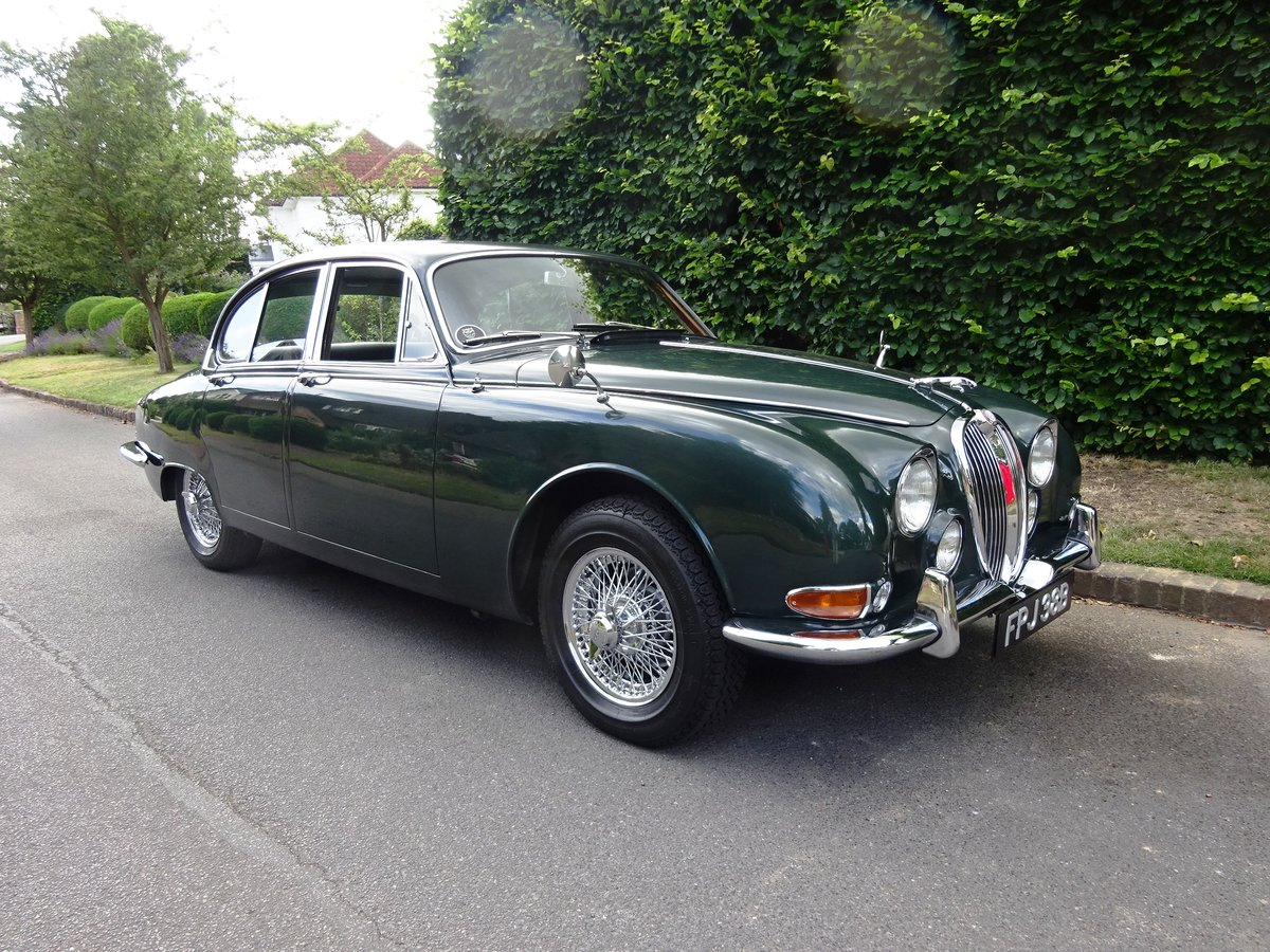 1964 Jaguar S-Type 3.8 Ltr 58,000 miles only For Sale (picture 1 of 6)