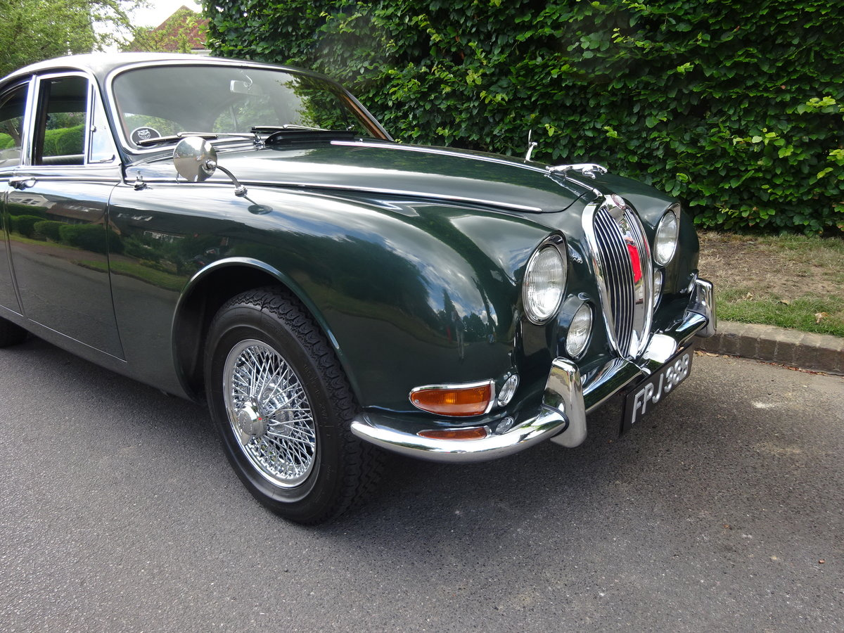 1964 Jaguar S-Type 3.8 Ltr 58,000 miles only For Sale (picture 2 of 6)