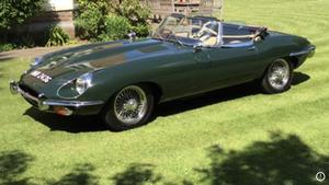 1969 Jaguar Series 2 Roadster 4.2 RHD