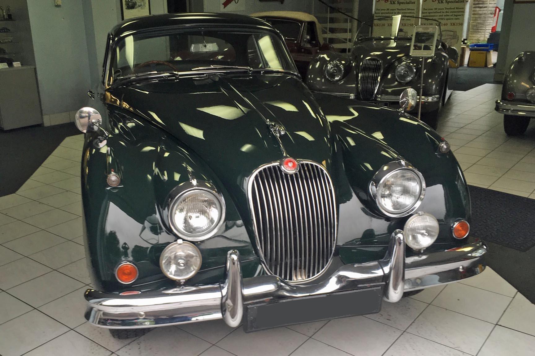 1960 Jaguar XK150 3.4 S FHC For Sale (picture 1 of 4)
