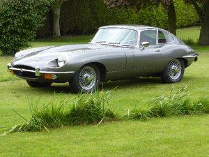 1970 Jaguar E Type Series II Fixed Head Coupe For Sale