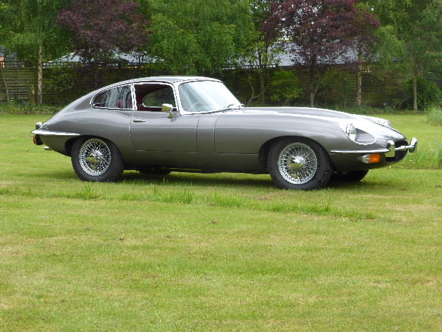 1970 Jaguar E Type Series II Fixed Head Coupe For Sale (picture 2 of 6)