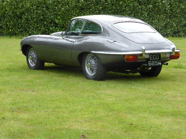 1970 Jaguar E Type Series II Fixed Head Coupe For Sale (picture 3 of 6)