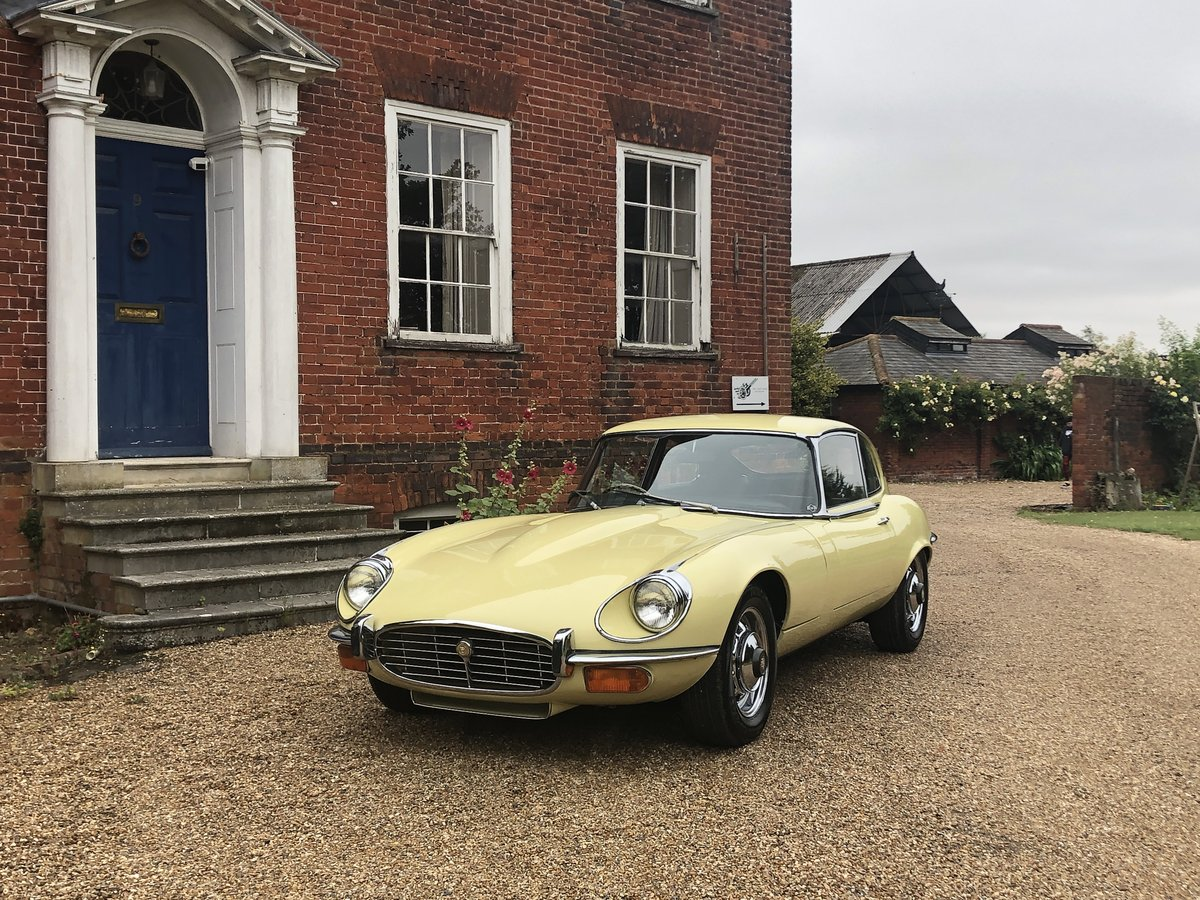 1973 Jaguar E-Type , Series 3, V12 , Manual, RHD For Sale (picture 1 of 24)