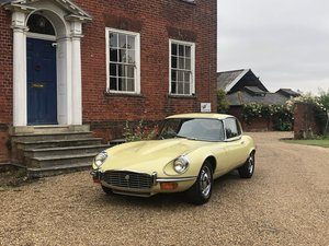 1973 Jaguar E-Type , Series 3, V12 , Manual, RHD