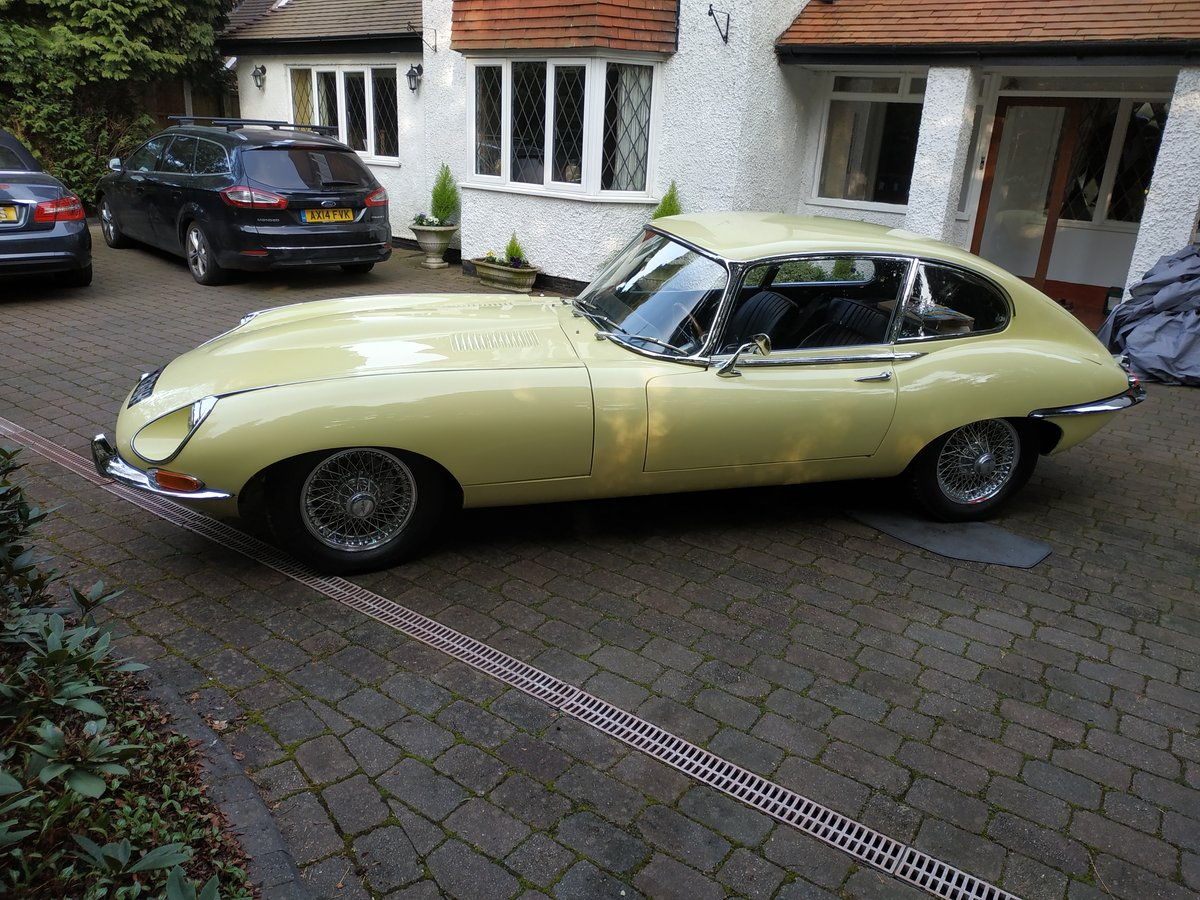 1968 E-Type Jag Fully restored by classic car company. For Sale (picture 1 of 6)