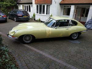 1968 E-Type Jag Fully restored by classic car company. For Sale