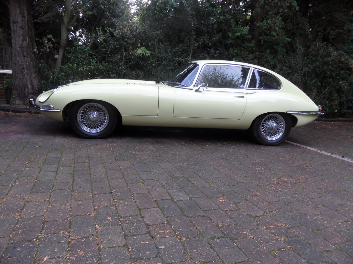 1968 E-Type Jag Fully restored by classic car company. For Sale (picture 2 of 6)