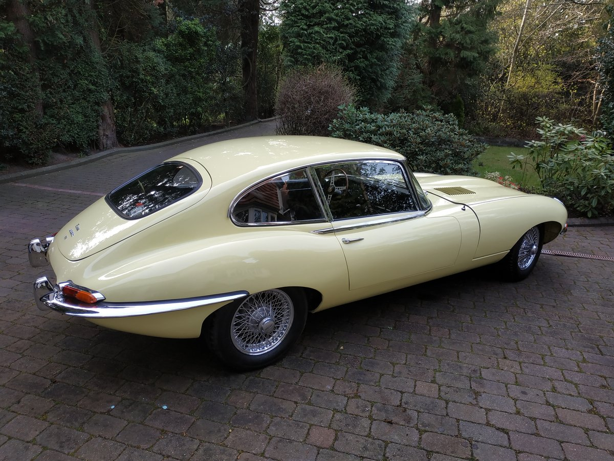 1968 E-Type Jag Fully restored by classic car company. For Sale (picture 3 of 6)