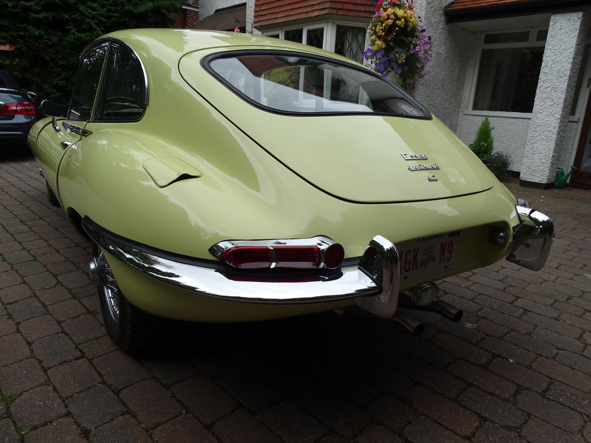 1968 E-Type Jag Fully restored by classic car company. For Sale (picture 6 of 6)