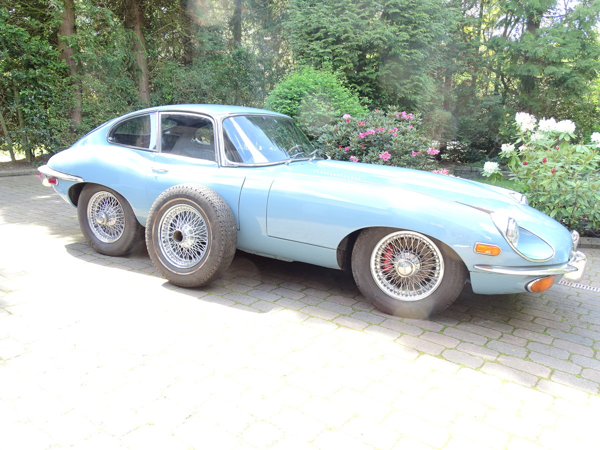 1969 Fully restored Jaguar E-Type. For Sale (picture 1 of 6)