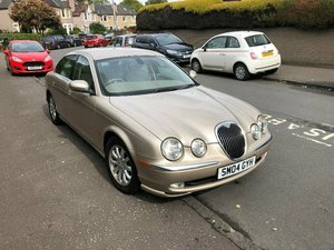 2004 S-Type 2.5 V6 SE automatic For Sale