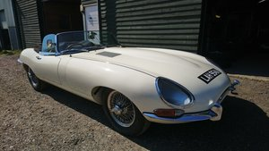 1963 Jaguar E Type Series 1 3.8 Roadster For Sale
