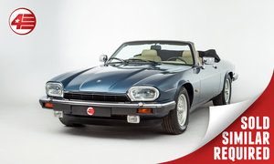 1992 Jaguar XJS V12 Convertible LHD /// Just 37k Miles SOLD