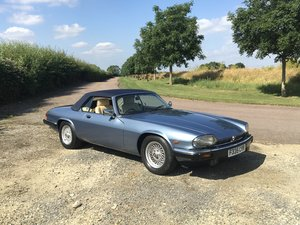 1988 Jaguar XJS V12 Convertible For Sale