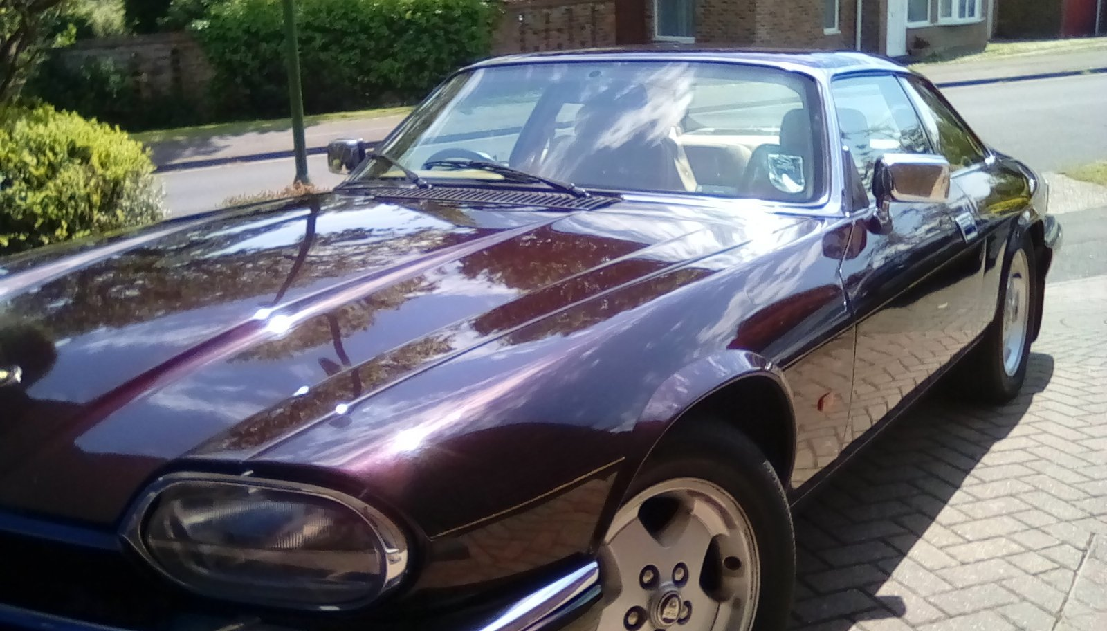 1994 Jaguar XJS 4.0 Coupe. Moroccan Red. For Sale (picture 1 of 6)
