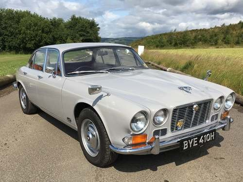 1970 Jaguar XJ6 2.8 at Morris Leslie Auction 17th August  SOLD by Auction (picture 1 of 6)