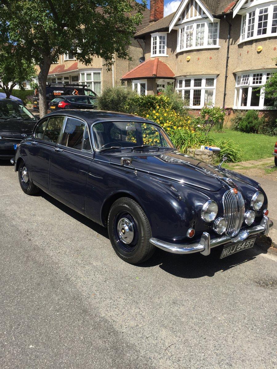 1967 Jaguar Mark 2 3.4 (340 model) SOLD | Car And Classic