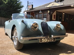 1954 JAGUAR XK120 ROADSTER OTS LHD For Sale