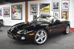 2003  Jaguar XKR Supercharged V8 Convertible FSH Low Mileage