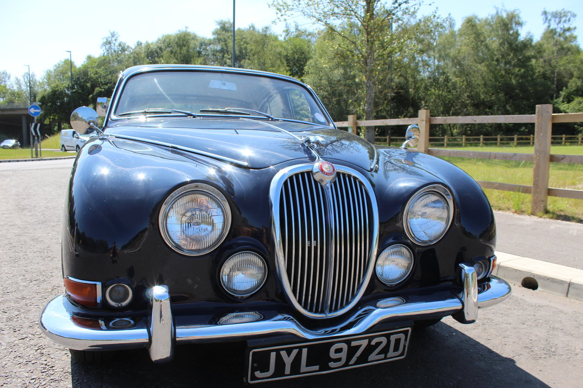 1966 Jaguar 3.8 S type Automatic With Power Steering  SOLD (picture 1 of 6)