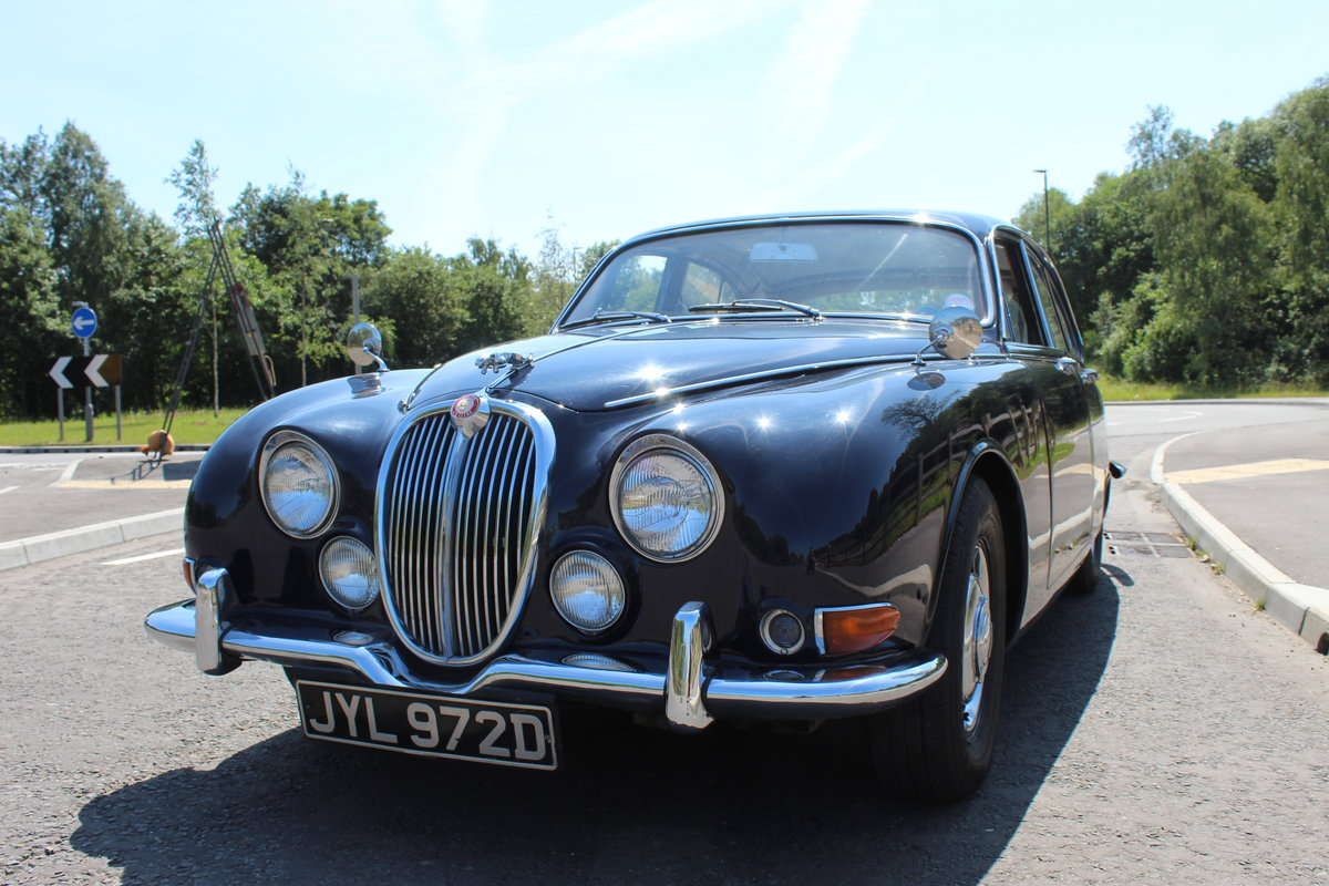 1966 Jaguar 3.8 S type Automatic With Power Steering  SOLD (picture 2 of 6)