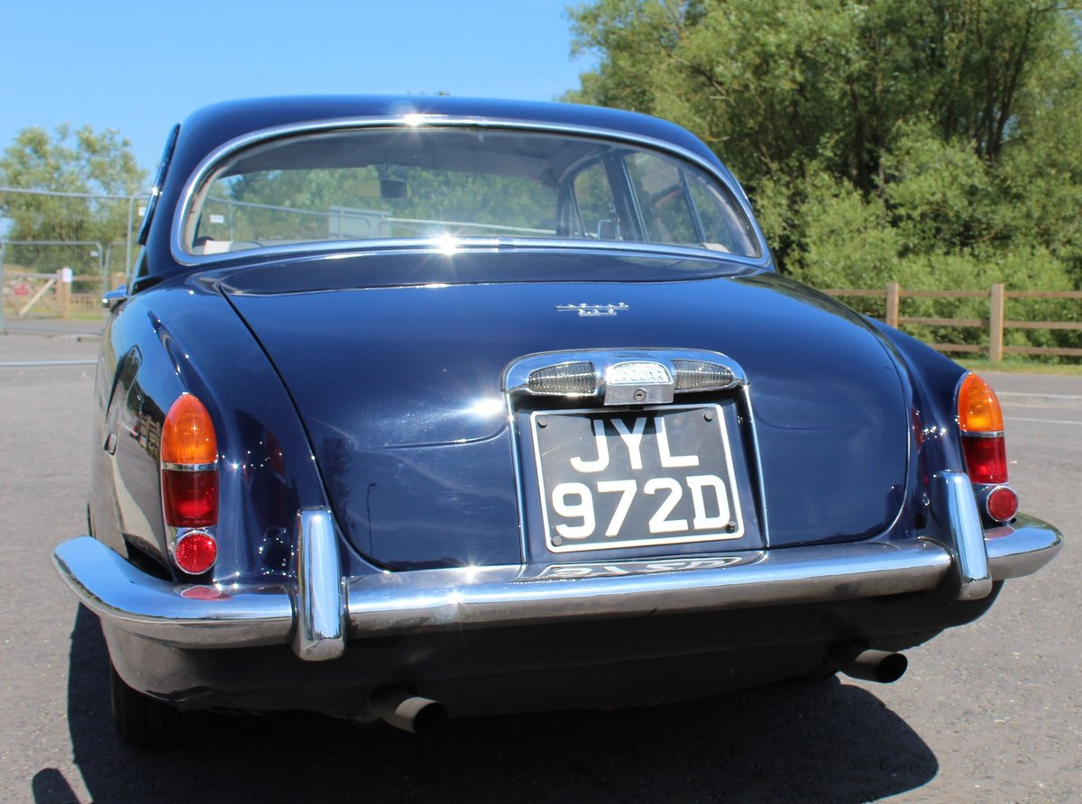 1966 Jaguar 3.8 S type Automatic With Power Steering  SOLD (picture 4 of 6)